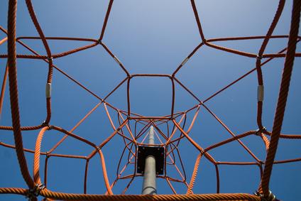Klettergerüst Leiter : Klettergerüst mit kletterwand und kletternetz von gartenpirat