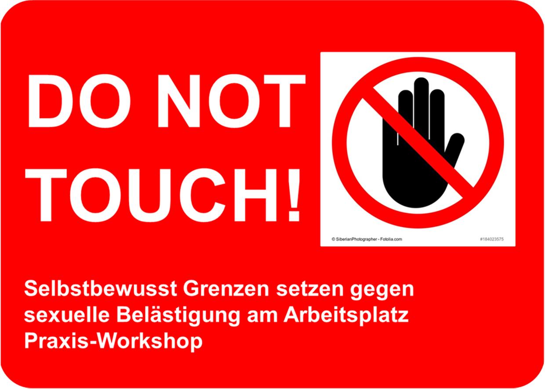 Praxis-Workshop: Selbstbewusst Grenzen setzen gegen sexuelle Belästigung am Arbeitsplatz