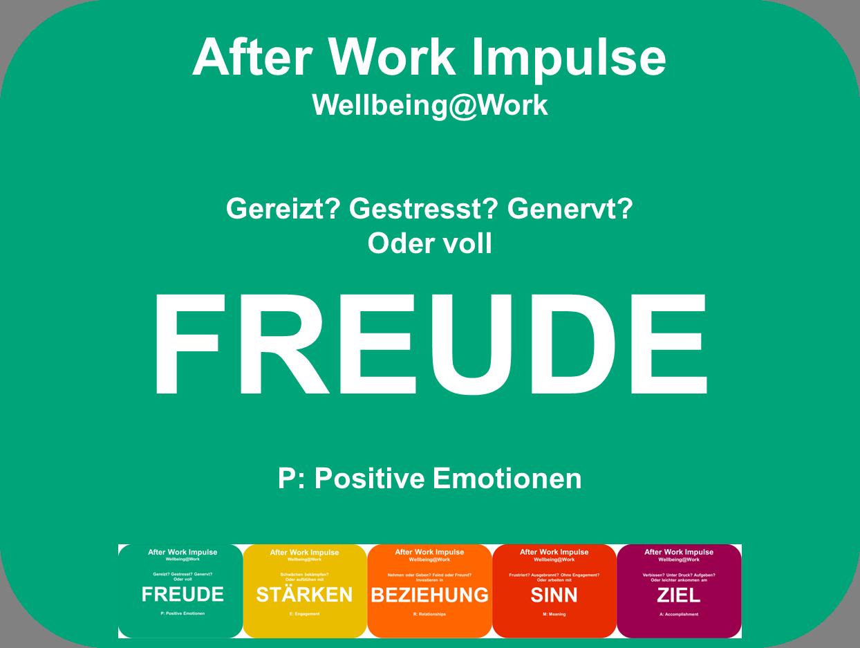 Positive Emotionen bei der Arbeit